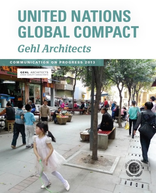 Gehl Architects' UN Global Compact report