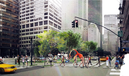 A park in Park Avenue: Renewing the green tradition