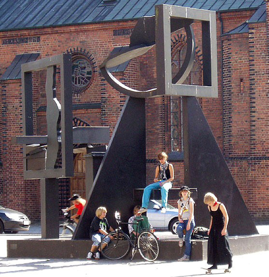 "Image Credit: Jan Kronvold, ""Robert Jacobsen Sculpture, Odense"""