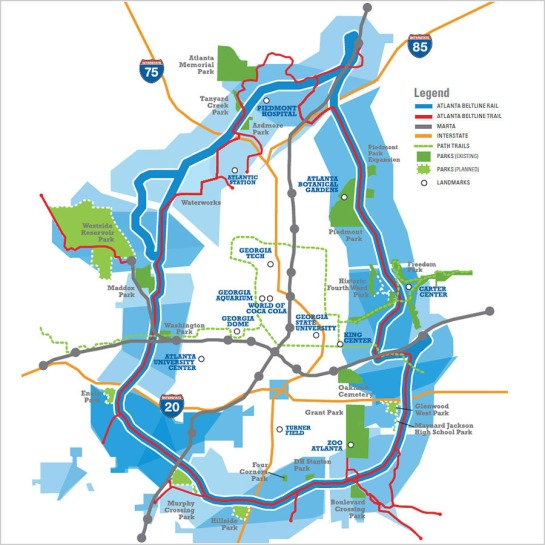 Beltline Map