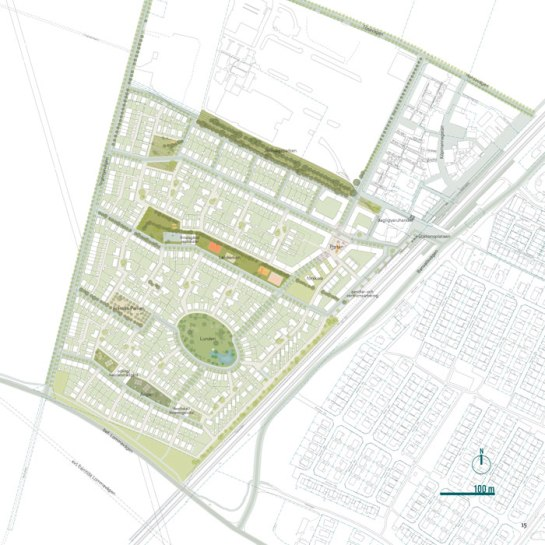 The masterplan proposal by Gehl Architects from 2012